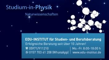 Physik zu studieren heißt…