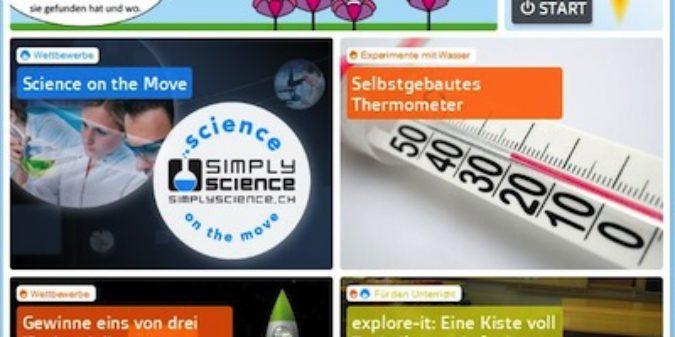 SimplyScience.ch – Deine Website für Naturwissenschaft und Technik
