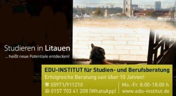Studieren in Litauen … heißt neue Potentiale entdecken!