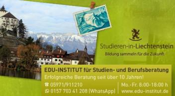 Studieren in Liechtenstein … ein Studium im Fürstentum!