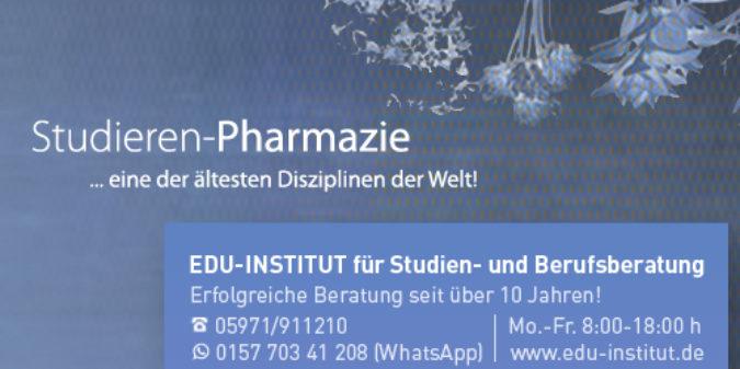 Pharmazie studieren – eine der ältesten Disziplinen der Welt