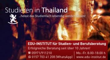 Studieren in Thailand…