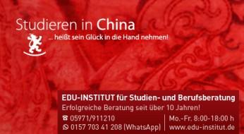 Studieren in China