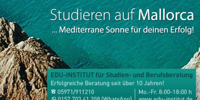 Studieren auf Mallorca…