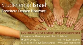 Studieren in Israel…