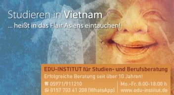 Studieren in Vietnam…