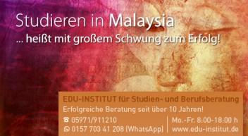 Studieren in Malaysia…
