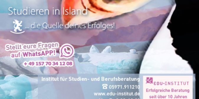 Studieren in Island…
