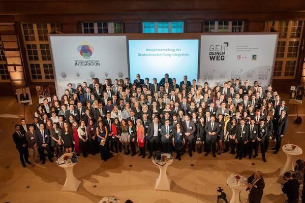 Im Februar 2014 wurden im Rahmen des alljährlichen Neujahrsempfangs der Stiftung 164 neue Talente mit einer feierlichen Aufnahmezeremonie in das Programm aufgenommen und von Staatsministerin Aydan Özuguz, neues Vorstandsmitglied der Stiftung, begrüßt.