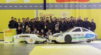 Team proTRon – mit der Energie aus einem Liter Benzin von Trier zum Nordkap