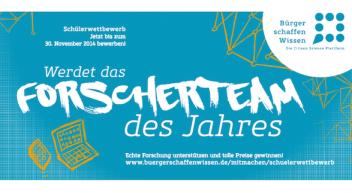 """""""Forscherteam des Jahres"""" gesucht: Messen, beobachten, sammeln – und gewinnen!"""
