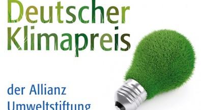 Deutscher Klimapreis der Allianz Umweltstiftung 2015