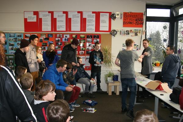 Tag der offenen Tür der Hauptschule Tecklenburg am 17.01.2015 Pressenews