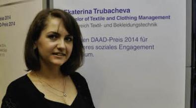 Engagement jenseits des Studiums: DAAD-Preis für Ekaterina Trubacheva