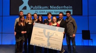 Marketingkommunikation: Team Niederrhein siegt bei Junior Agency Award