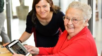 """Gemeinschaftsprojekt """"Mit Tablets auf den Spuren der Kunst"""""""