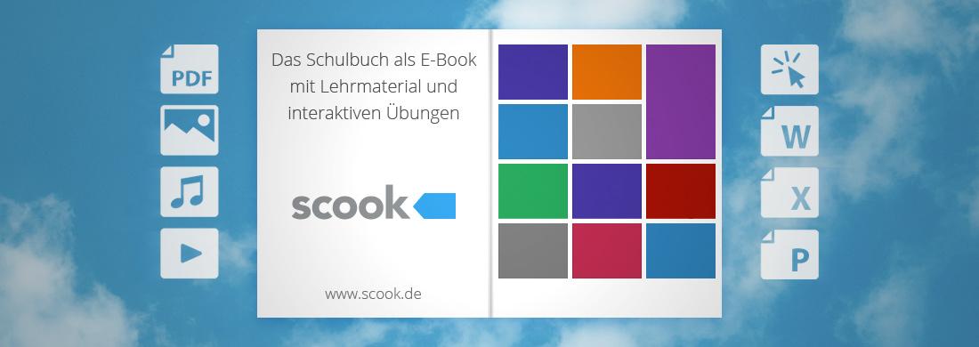 Scook Das Schulbuch als E-Book mit Lehrmaterial mit interaktiven Übungen