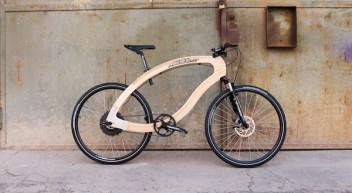 Das wood-e-bike – ein Fahrrad aus Eschenholz mit Elektroantrieb