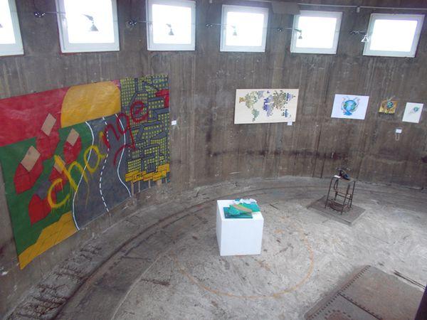 Obere Etage in der Ausstellung