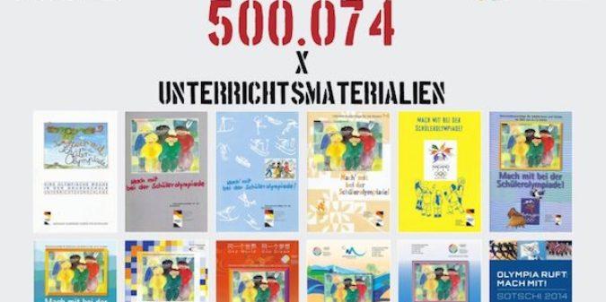 Unterrichtsmaterialien von der Deutschen Olympischen Akademie