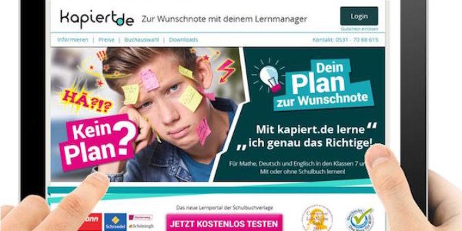 Genau das Richtige lernen –  in Mathe, Deutsch und Englisch