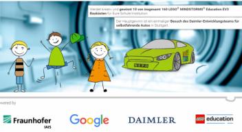 Stellt  Euch vor, Forscherinnen und Forscher von Fraunhofer, Google und Daimler könnten jede Eurer Ideen wahr werden lassen. Wie würde Euer »selbstfahrendes Auto« der Zukunft aussehen?