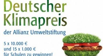 Wettbewerb: Deutscher Klimapreis der Allianz Umweltstiftung 2016
