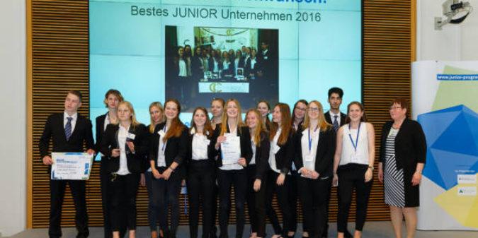 Gewonnen: Die beste Schülerfirma Deutschlands