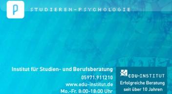 Psychologie studieren