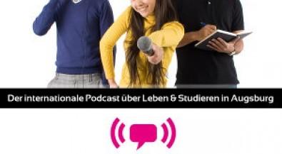 student.stories – das internationale Podcast-Angebot der Augsburger Hochschulen