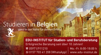 Studieren in Belgien
