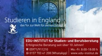 Studieren in England