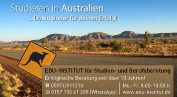 Studieren in Australien…