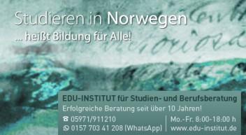 Studieren in Norwegen