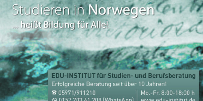 Studieren in Norwegen