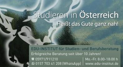 Studieren in Österreich…