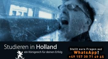 Studieren in Holland…