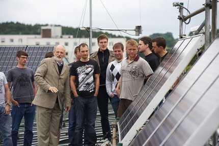 Photovoltaikanlage der Hochschule Coburg