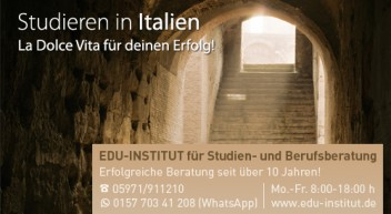 Studieren in Italien…
