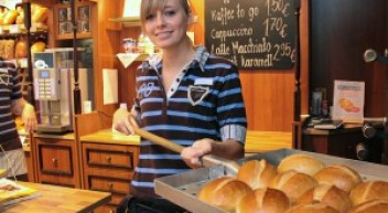Die Landbäcker-Azubis