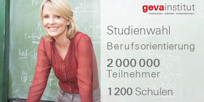Studien- und Berufswahl mit den geva-tests®