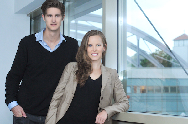 Founders Alexander Gassner and Mira Maier 2