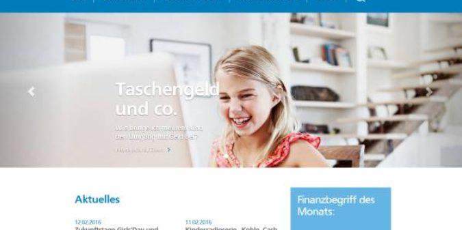 """Schulserviceportal """"Jugend und Finanzen"""" der Volksbanken Raiffeisenbanken"""