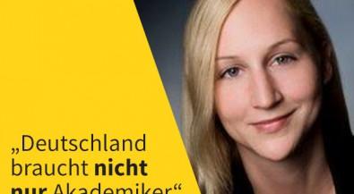 """Duale Ausbildung: """"Deutschland braucht nicht nur Akademiker"""""""