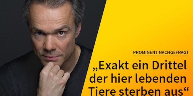 Hannes Jaenicke: 5 Fragen — 5 Antworten