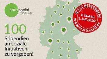 Profi-Hilfe für soziale Initiativen beim startsocial-Wettbewerb gewinnen!