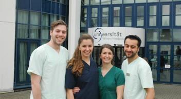 Zahnmedizin-Studenten bieten zahnmedizinische Hilfe in Myanmar