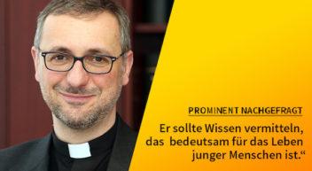 5 Fragen — 5 Antworten: mit Erzbischof Dr. Stefan Heße