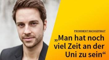 5 Fragen — 5 Antworten: mit Mirko Drotschmann