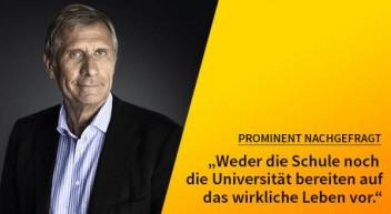 5 Fragen — 5 Antworten: Mit Ulrich Wickert